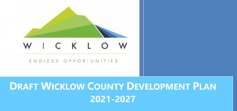 Cover of Draft Wicklow County Development Plan