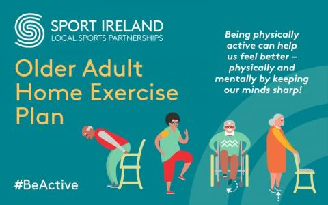 Older Adults Exercise Plan poster