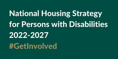 National Housing Strategy consultation flyer